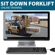 Sit Down Forklift Training