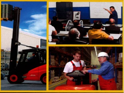 Hands on Forklift Training in NY